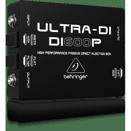 Di Passive Direct Box (Behringer Ultra-DI DI600P High-Performance Passive DI-Box)