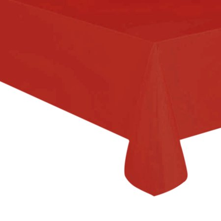 54 X 108 Red Heavy Duty Table Cover by Paper Mart - Paper Table