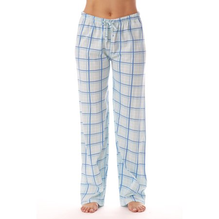 Drawstring Womens Sleep Pant (Just Love Women's and Women's Plus Plaid Pajama Pants)