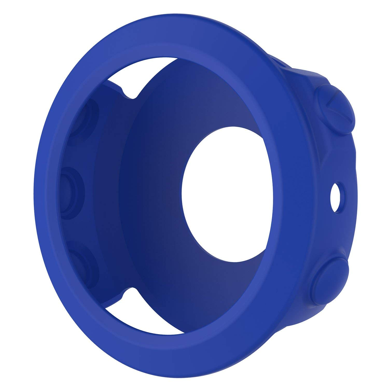 StrapsCo Silicone Rubber Protective Case Cover for Garmin Fenix 5 - image 3 de 4