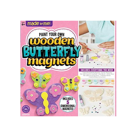Made by Me Wooden Butterfly Magnets, 1 Each](Wooden Butterfly)