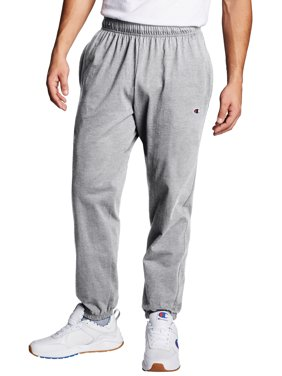 Champion Mens Closed Bottom Jersey Sweatpants, up to Size 4XL