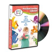 Brainy Baby� Preschool Learning Collection: ABC, 123, Art, Music, Animals, Shapes and Colors DVD by