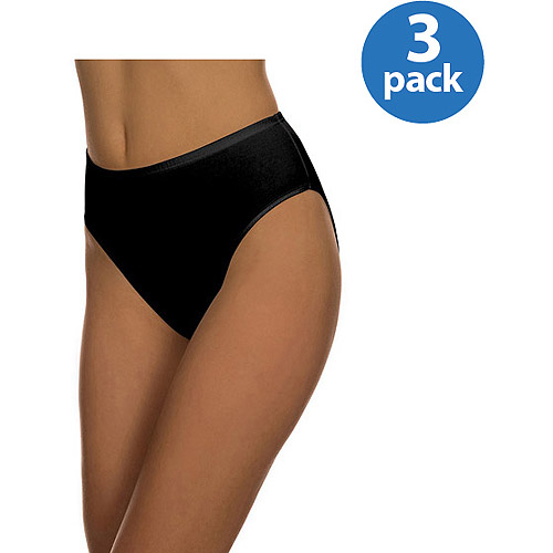 Best Fitting - Cotton Stretch Hi-Cut Panties, 3-Pack