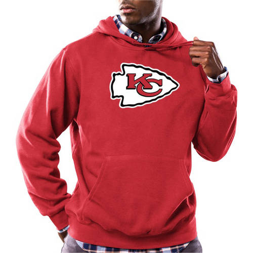 NFL Men's Kansas City Chiefs Tek Patch Fleece Hoodie