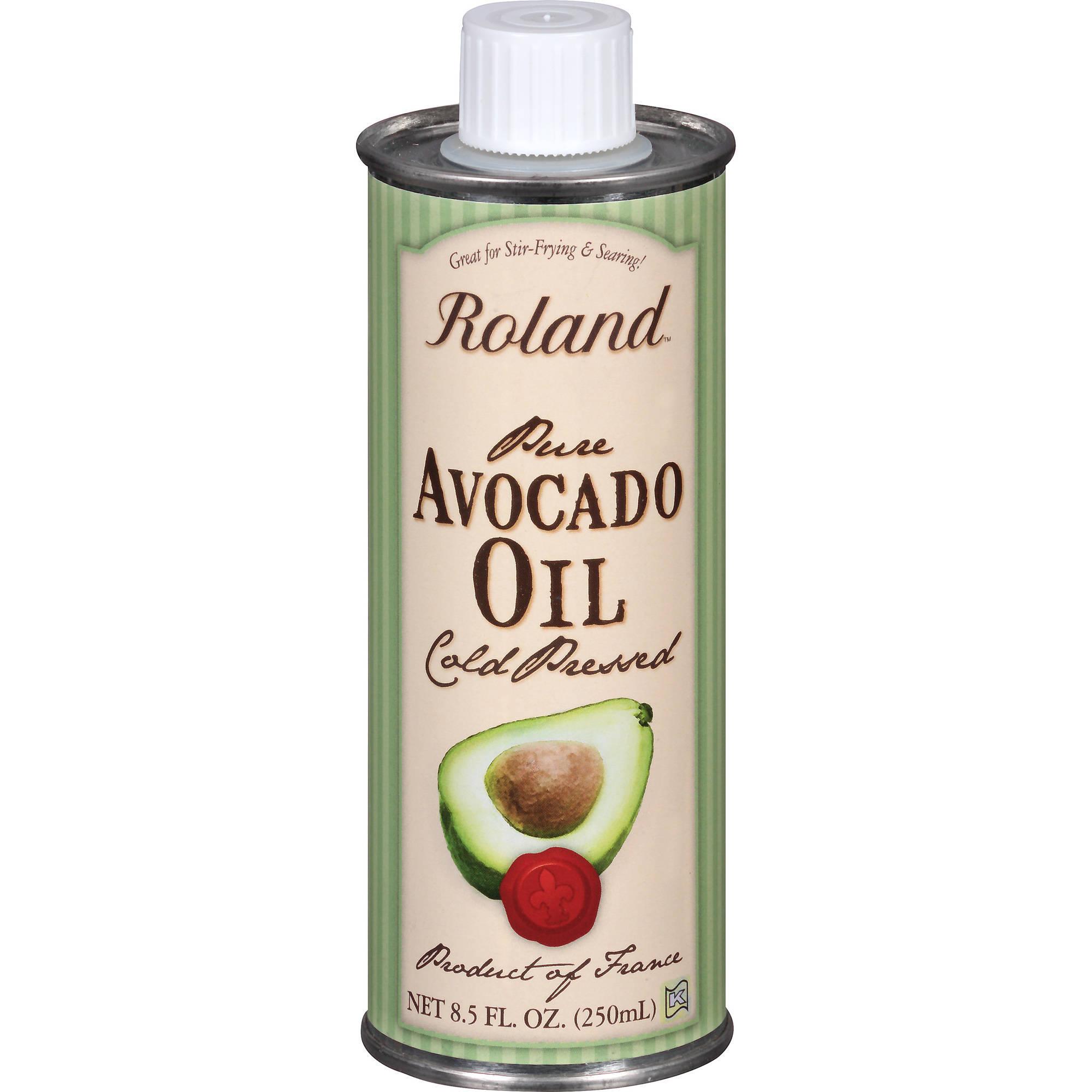 Roland Cold-Pressed Pure Avocado Oil, 8.5 fl oz