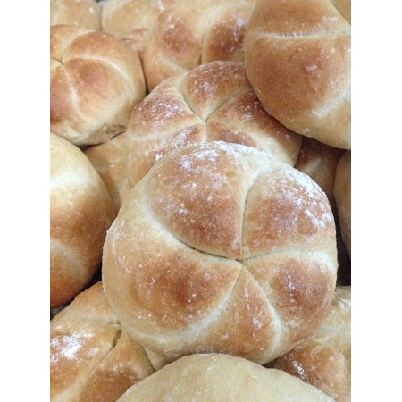 LAMINATED POSTER Real Bread Pan Kaiser Rolls Poster Print 24 x 36