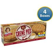 Little Debbie Peanut Butter Creme Pies 18.39 Oz (4 Boxes)