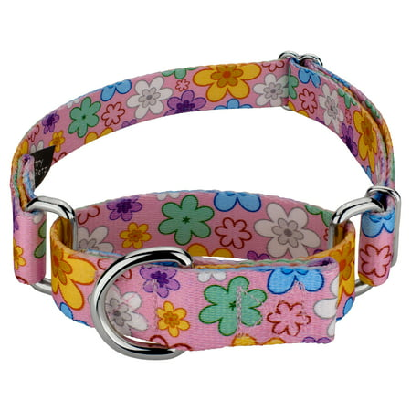 Country Brook Petz® May Flowers Martingale Dog Collar