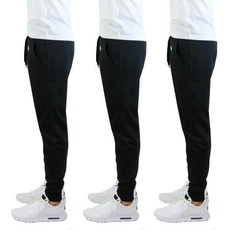 - 3 Pack Men's Jogger Sweatpants