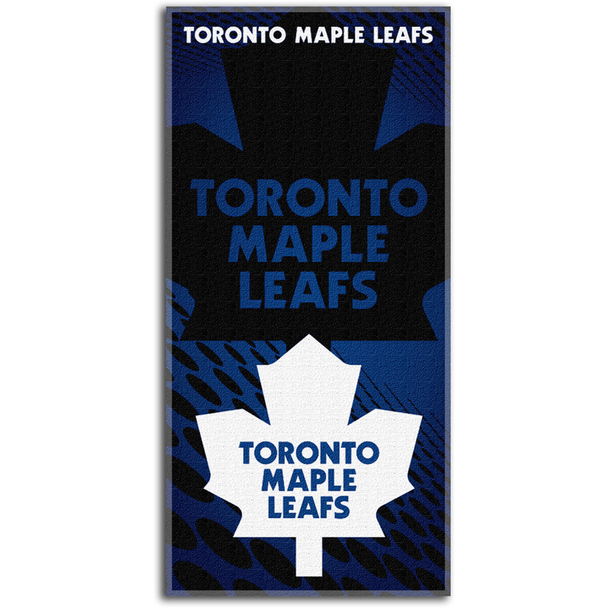 NHL Beach Towel Emblem Series, Toronto Maple Leafs