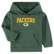 Toddler Green Green Bay Packers Team Fleece Pullover Hoodie