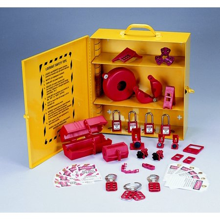 Complete Lockout Station (Ideal Industries 44-975 Industrial Lockout - Tagout Station )