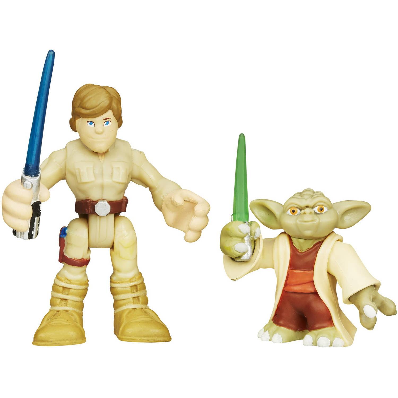 Playskool Heroes Star Wars Galactic Heroes, Yoda and Luke Skywalker by Hasbro