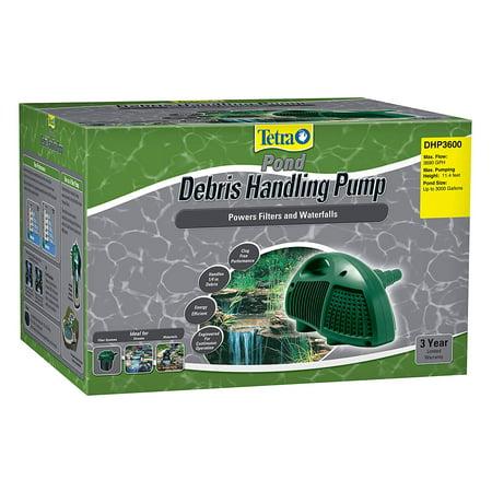 Tetra Pond Debris-Handling Pump, Energy Efficient, UL Listed