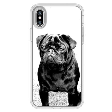Pug that relaxes iphone case