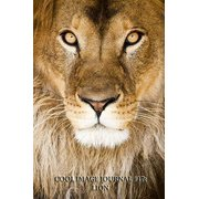 Cool Image Journal #17: Lion (Lined Pages): 200 Page Journal