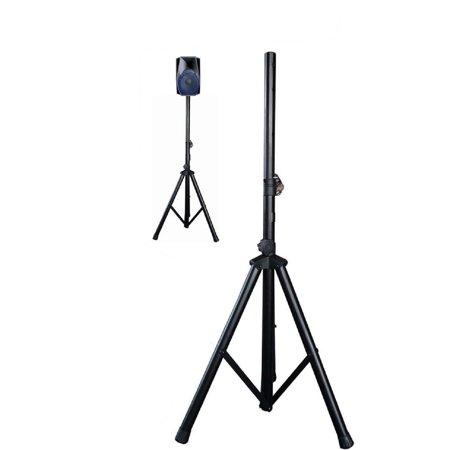 - Nutek SS-007 Pro Audio DJ Universal Pa Speaker Adjustable Tripod Pole Mount Speaker Stand Height 30