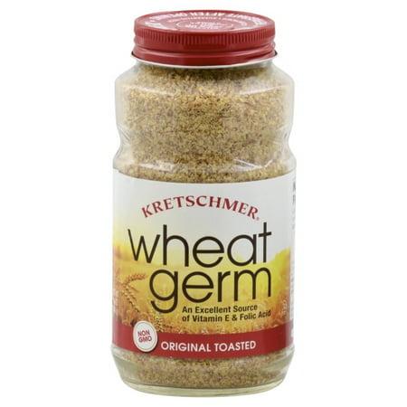 Wheat Germ Protein - (2 Pack) Kretschmer Original Toasted Wheat Germ, 12 oz