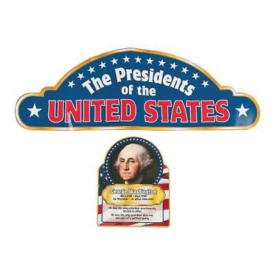 IN-13679398 President Learning Charts 1 Set(s)