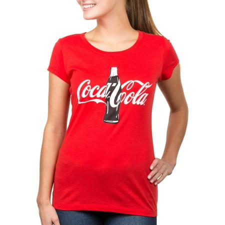 coca cola juniors 39 coke graphic tee. Black Bedroom Furniture Sets. Home Design Ideas