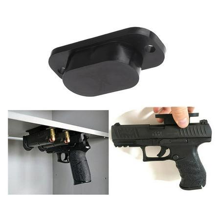 Pistol Concealed Magnet Holder, 25LB Rating Handgun Magnetism Hiding Holder for Desk Bed Car Truck