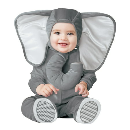 Baby Elephant Unisex Infant Grey Zoo Animal Halloween (Baby Costumes)