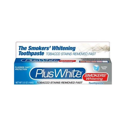Plus White® The Smokers Whitening Toothpaste Smoker's, 3.5 oz. Tube