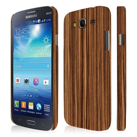 Case One Piece (Samsung Galaxy Mega 5.8 Case, EMPIRE Signature Series One Piece Slim-Fit Case for Samsung Galaxy Mega 5.8 I9152 / I9150 - Zebra Wood )