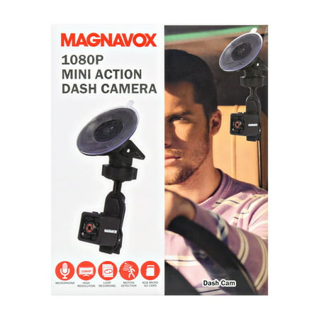 Magnavox Mini Action Camera 1080p Video Record