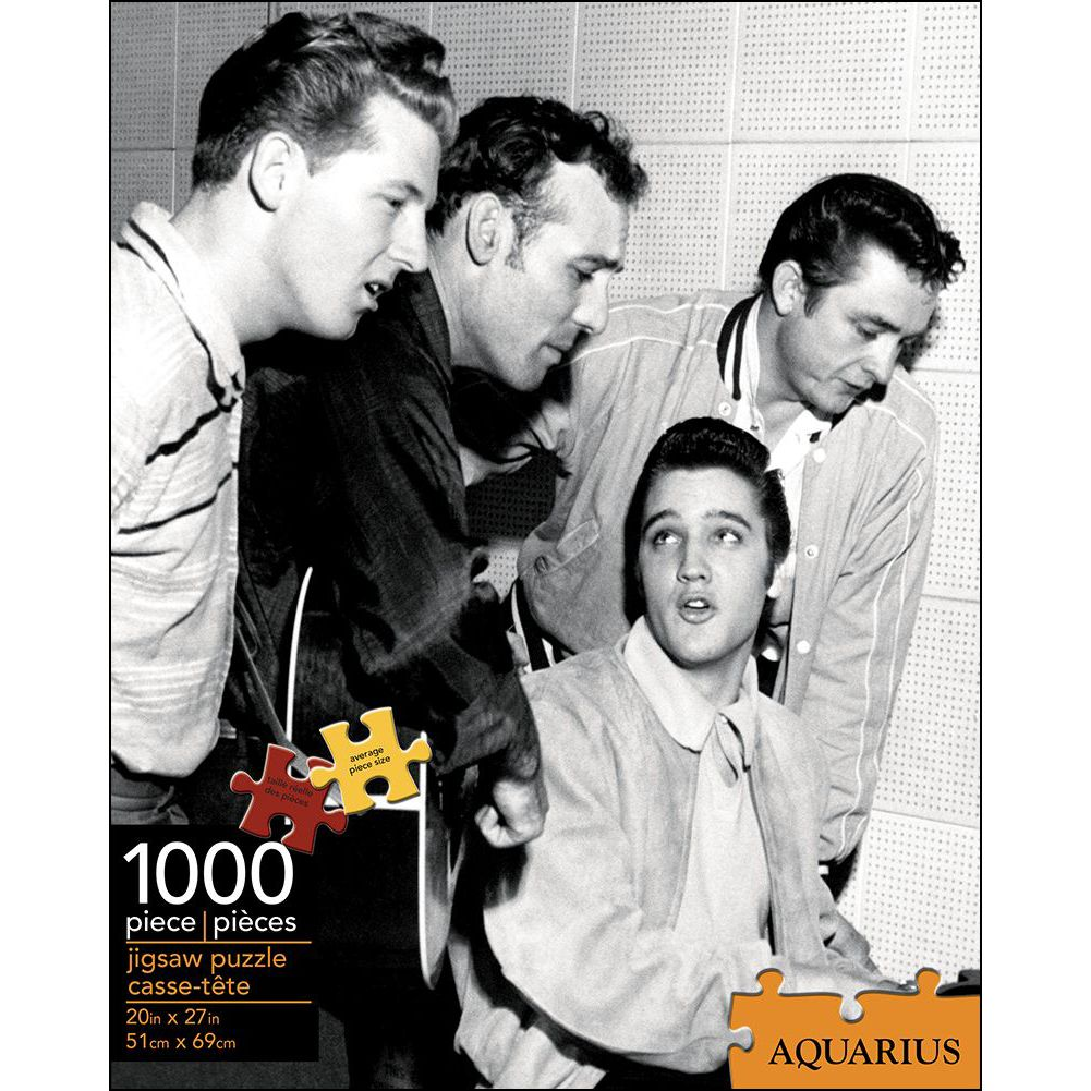 Elvis Million Dollar Quartet 1,000 Piece Puzz