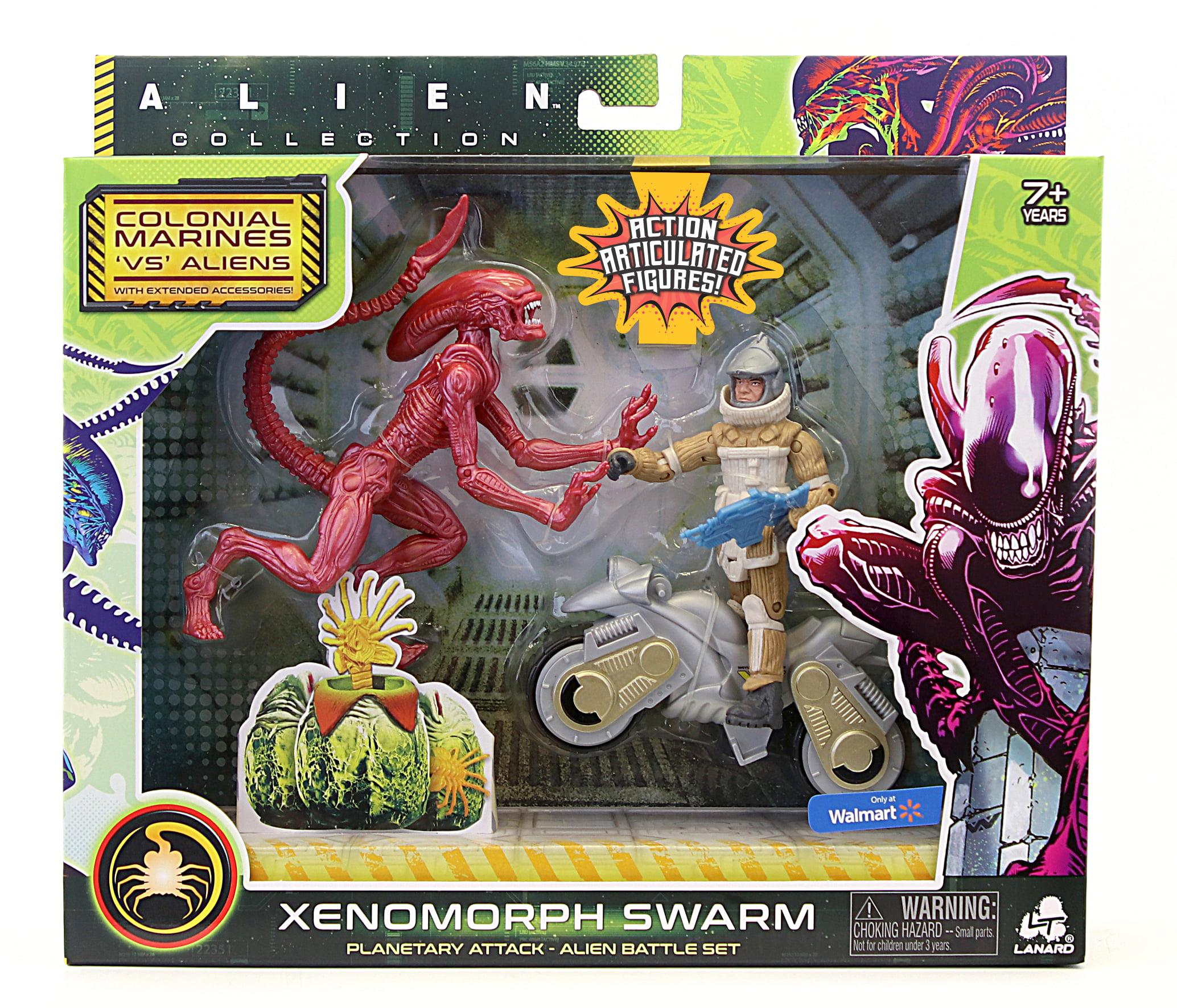 """NEW RELEASE 2020 ALIEN QUEEN Xenomorph 12/"""" action figure Walmart by Lanard"""