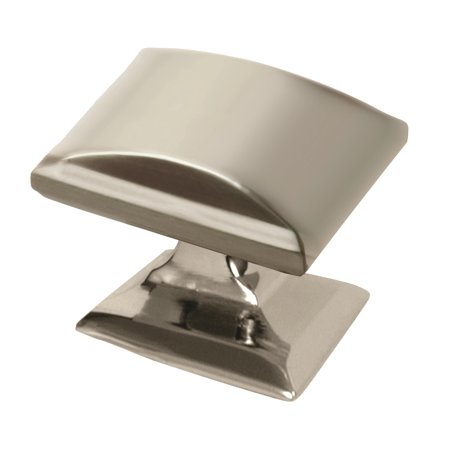 Candler 1-1/4 in (32 mm) Length Polished Nickel Cabinet Knob