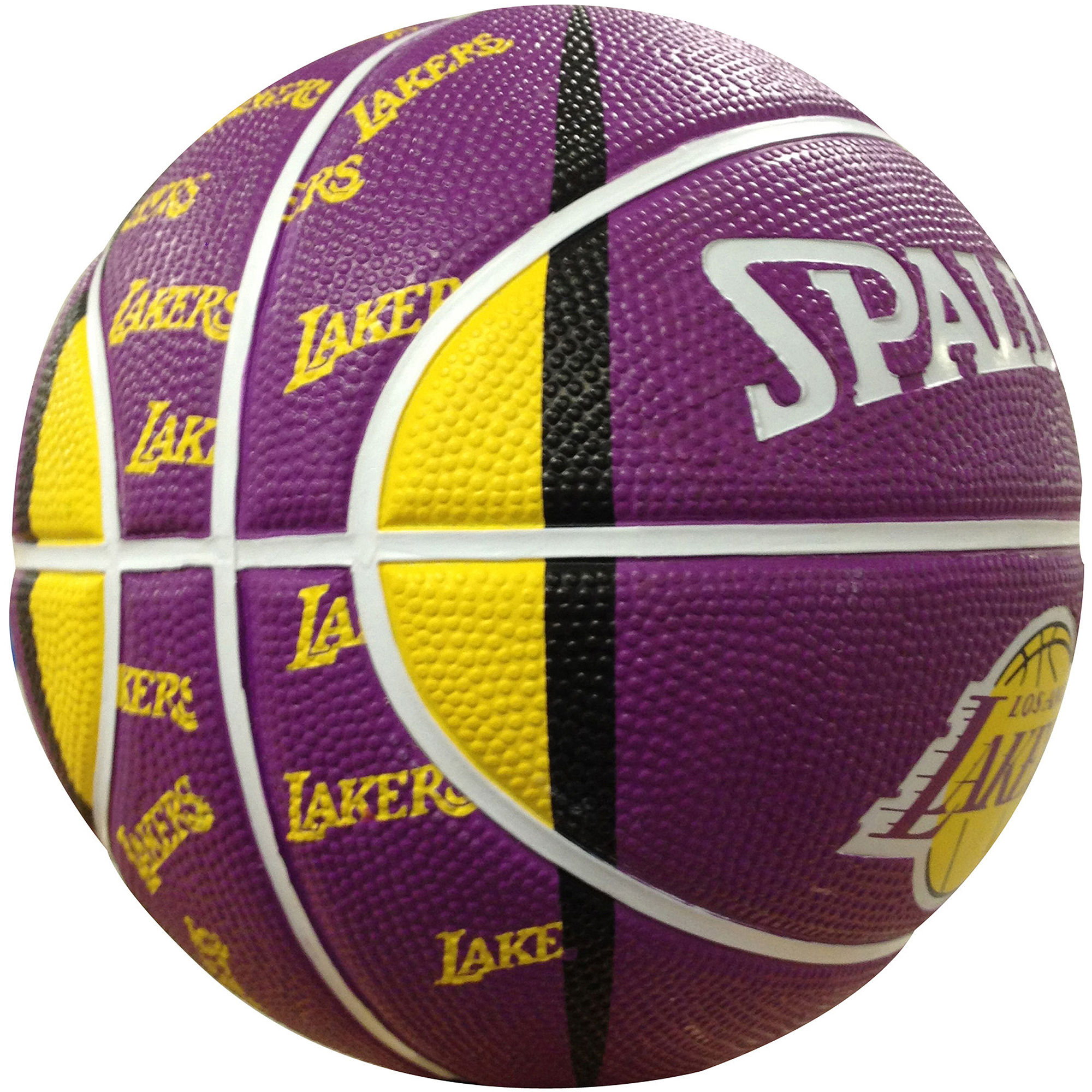 "Spalding NBA 7"" Mini Basketball, Los Angeles Lakers"