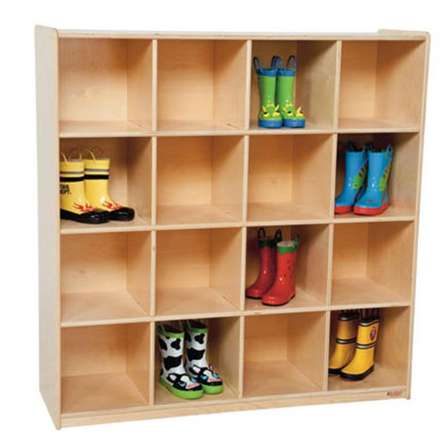 Wood Designs 50916 Sixteen Big Cubby Storage