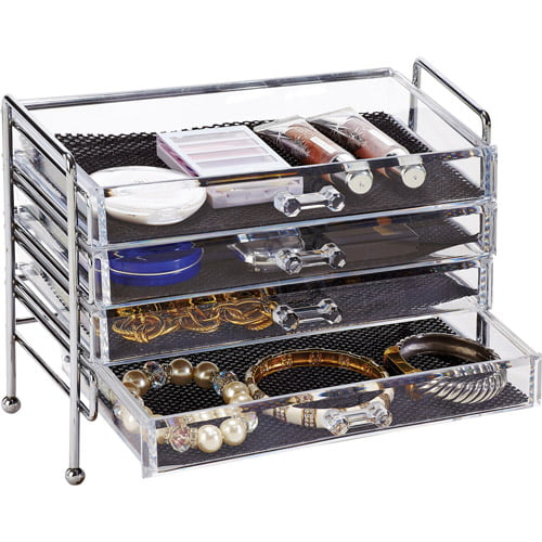Simplify 5Drawer Cosmetic and Jewelry Organizer Walmartcom