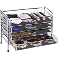 Simplify 5-Drawer Cosmetic and Jewelry Organizer