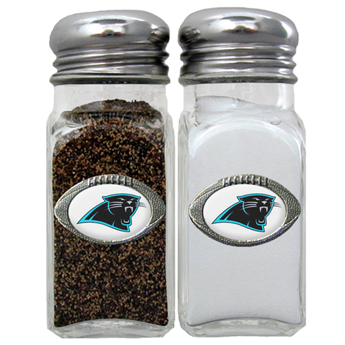 Carolina Panthers Official NFL Salt & Pepper Shakers by Siskiyou 087110