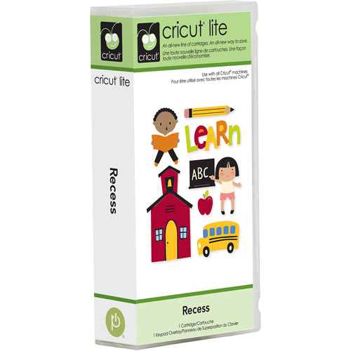 Cricut Lite Recess Cartridge