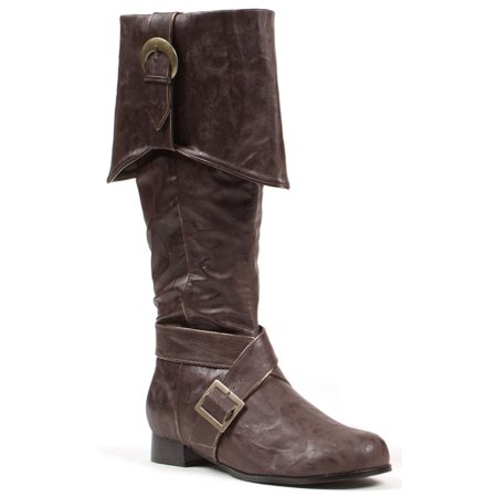 Mens Pirate Boots (Men's Brown Pirate Boots)
