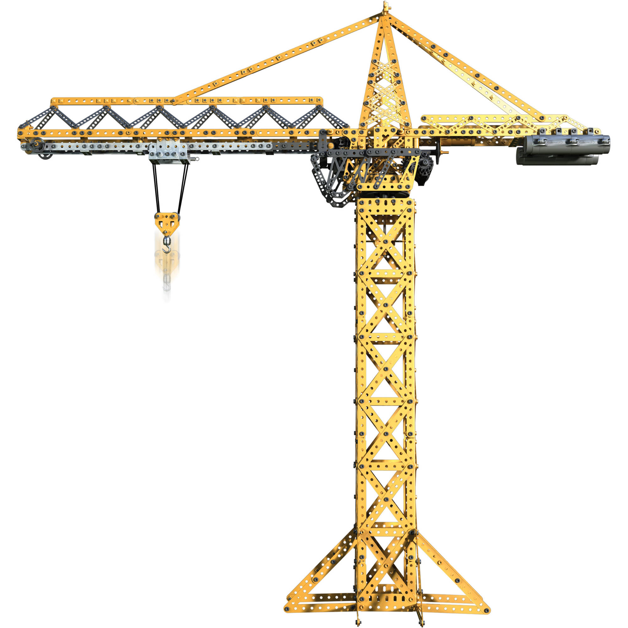 Meccano-Erector Tower Crane Model Set