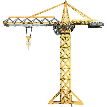Meccano Erector Tower Crane Model Set