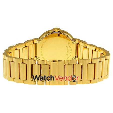 Movado Museum Gold Dial Yellow Gold-plated Ladies Watch 0606704 - image 3 of 4
