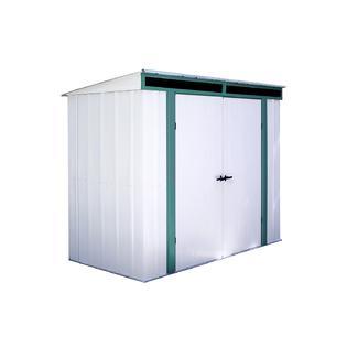 Eurolite Lean To Steel Storage Shed 8 x 4