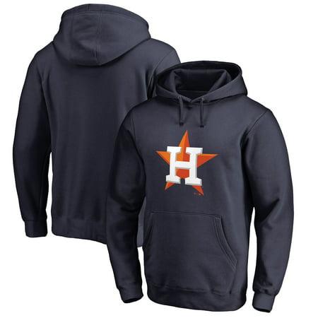 (Houston Astros Fanatics Branded Primary Logo Pullover Hoodie - Navy)