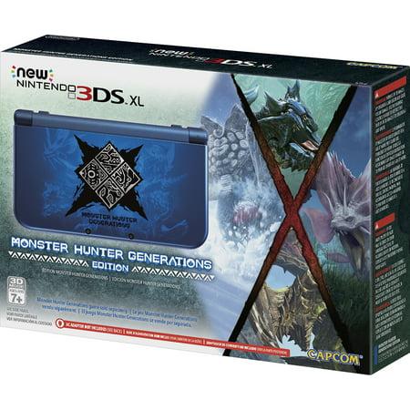 New Nintendo 3Ds Xl Monster Hunter Generations Edition  Nintendo 3Ds