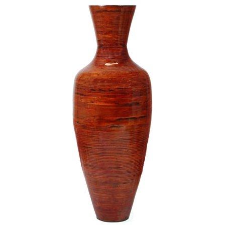 Bloomsbury Market Amaury Tall Bamboo Floor Vase Walmart