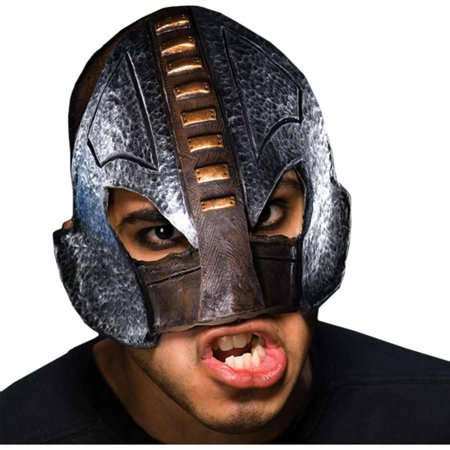Adult Medieval Executioner Chinless Half Vinyl Mask