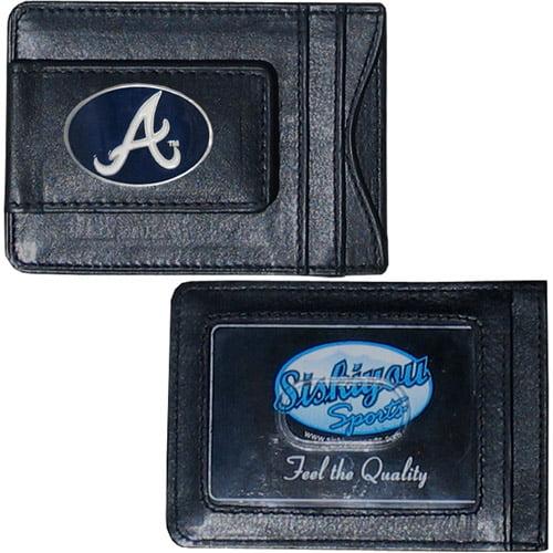 MLB - Money Clip and Cardholder, Atlanta Braves