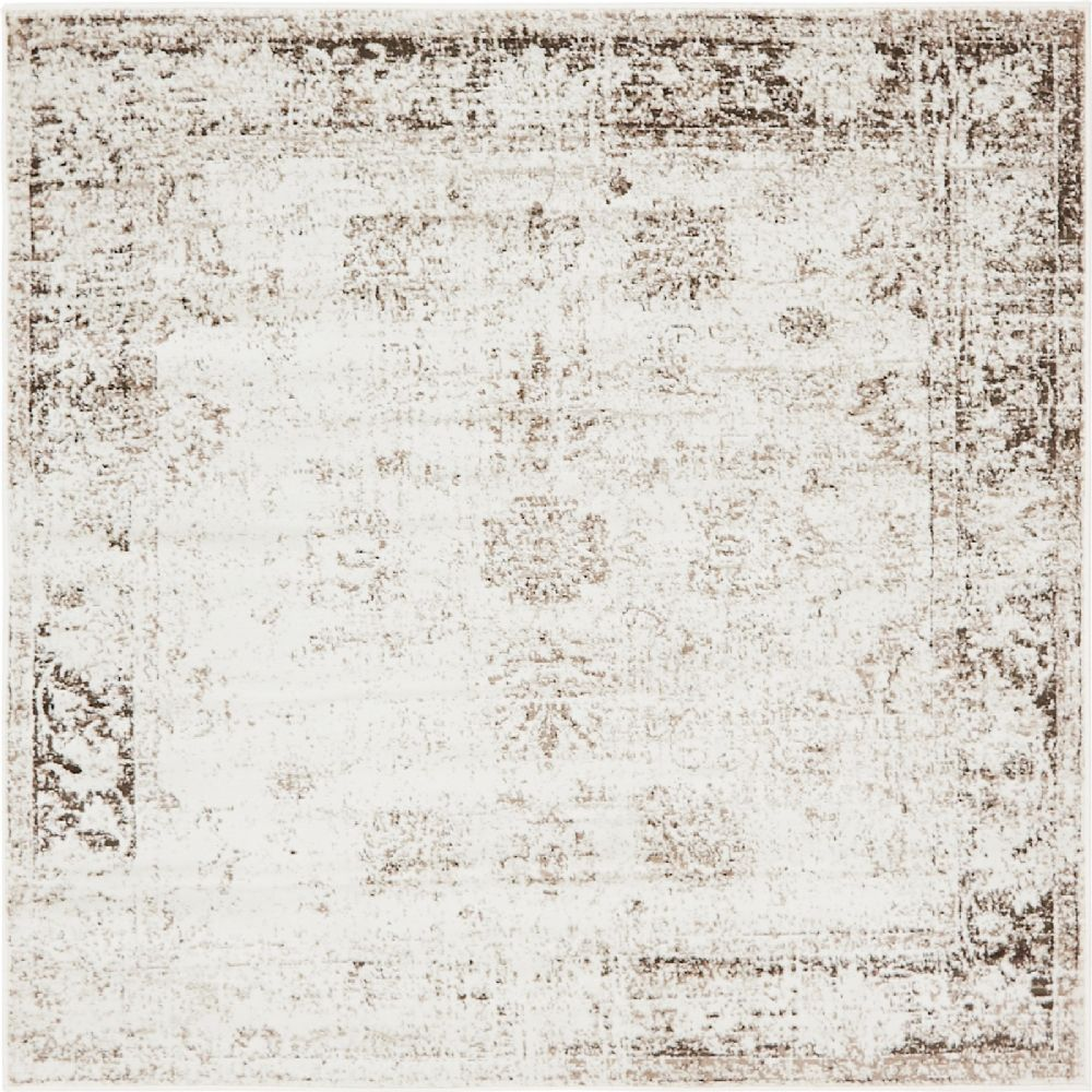 Transitional Sandrine Collection Area Rug in Multiple Color and Rectangle, Runner, Square Shape